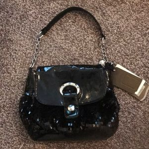 ChicCasual Handbag in black/silver.Sparkly/Stylish